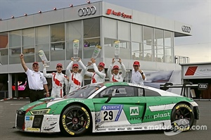 Dunlop and Audi Win Nurburgring 24Hr