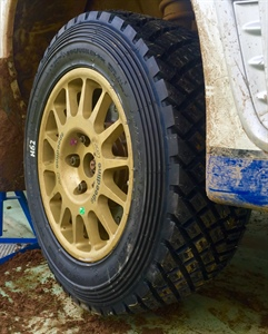 NEW RALLY TYRE WINS AT FIRST COMPETITION