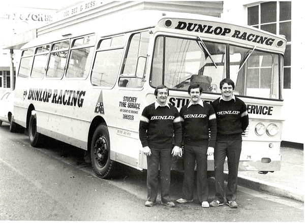 Stuckey Tyres, Racing since 1972