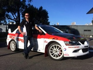 Targa Tasmania winner joins Aus rallycross series