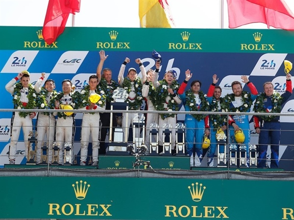 Double Dunlop overall podium at Le Mans 24 Hours