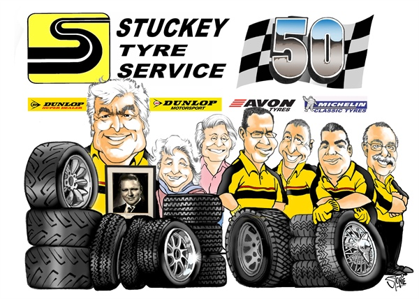 50th BIRTHDAY FOR STUCKEY TYRE SERVICE